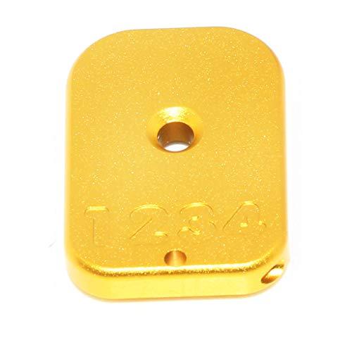 Airsoft Armorer Works AW Custom CNC Magazine Base Plate for Hi-Capa GBB Gas Magazine Gold