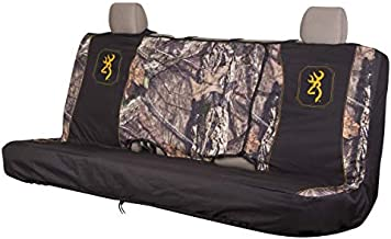 Browning Universal Front and Bench Seat Covers, Water Resistant for Car, Truck, and SUV