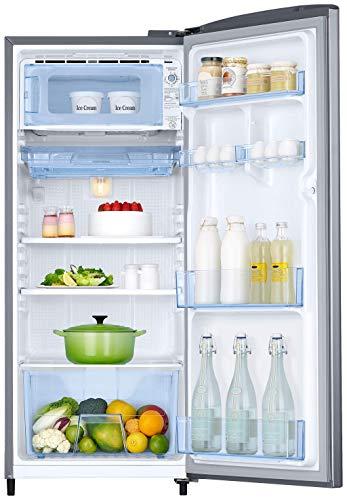 Samsung 192 L 3 Star Direct-Cool Single Door Refrigerator (RR20R1Y2YS8/HL, Elegant Inox)