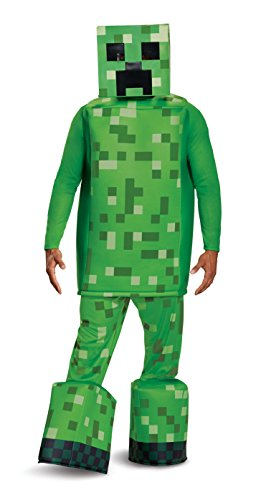 Disguise Men's Creeper Prestige Costume, Green, One Size Adult