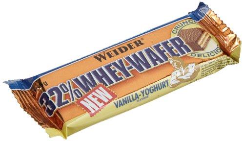 Weider 32% Whey Wafer, Vaniglia-Yogurt - Barretta da 35G