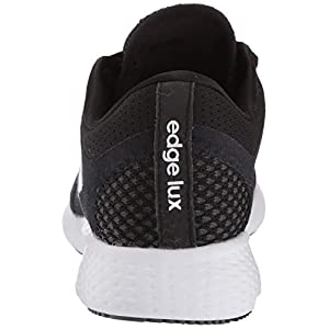 adidas Women's Edge Lux 4 Running Shoe, Black/White/Grey, 9