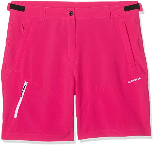 Icepeak Damen SAANA Shorts, Himbeere, 44