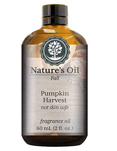 Pumpkin Harvest Fragrance Oil (60ml) For Diffusers, Candles, Home Scents, Linen Spray, Slime