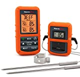 ThermoPro TP20 Wireless Remote Digital Meat Thermometer Cooking Food Thermometer with Dual Probe