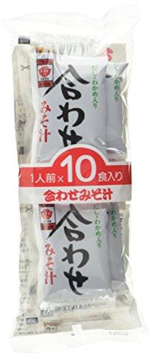 Masuya Miso-Suppe, Portionspackung, (SokusekiNama Awase Misoshiru) (1 x 180 g Packung)