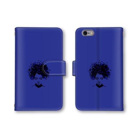 【ノーブランド品】 Xperia XZ1 701SO スマホケース 手帳型 女性 イラスト 蝶 ブルー 青色 かわいい おしゃれ 携帯カバー エクスぺリア 701SO ケース ソフトバンク softbank