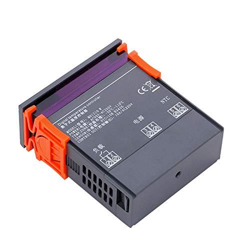 Ashley GAO Controlador de temperatura digital 90V-250V 10A Regulador de termostato -50-110 grados Calefacción Control de refrigeración