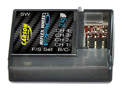 Carson 500501534 - Empfäng Reflex Wheel Pro-3 2.4 GHz wasserdicht