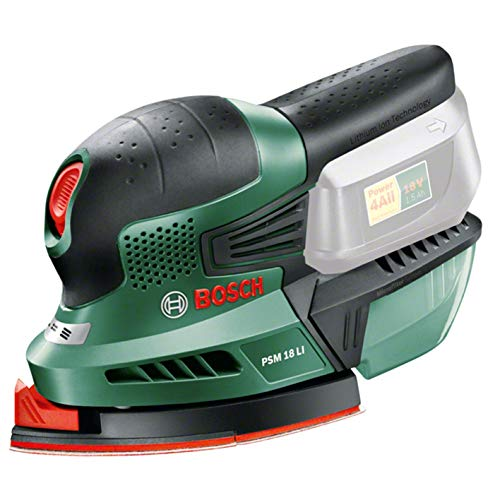 Bosch Home and Garden 0.603.3A1.301 Multilijadora de batería de Litio, 18 W, 18 V