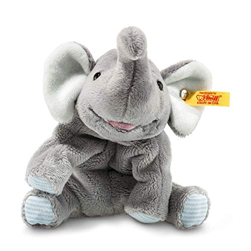 Steiff 281259 - Trampili Elefant liegend, 16 cm, grau