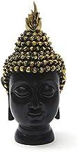 Buddha Statue Thailand Buddha Sculpture Green Resin Hand Made Buddhism Hindu Fengshui Figurine Meditation Home Decor