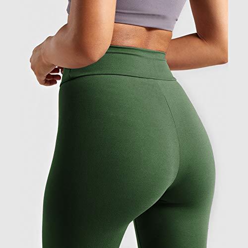 4 Pack High Waisted Leggings for Women- Soft Tummy Control Slimming Yoga Pants for Workout Running Reg & Plus Size