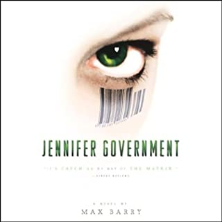 Jennifer Government audiobook cover art