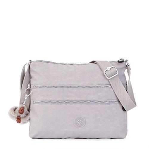 Kipling Women's Alvar Solid Crossbody Bag, Slate Grey