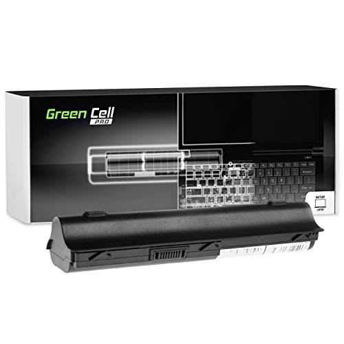 Green Cell® PRO Extended Serie MU06 Laptop Akku für HP 250 255 2000 635 650 655 Pavilion G4 G6 G62 G7 Compaq Presario CQ56 CQ62 (Original Samsung SDI Zellen, 9 Zellen, 7800mAh, Schwarz)