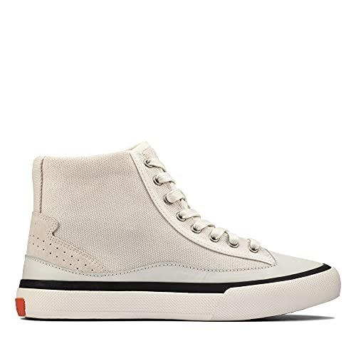 Clarks Aceley Hi, Zapatillas Mujer, Color Blanco, 39 EU