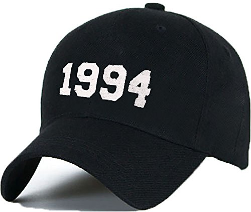 Bonnet Casquette Snapback Baseball 1994 Hip-Hop en Noir/Blanc avec les ASAP Bad Hair Day