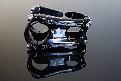 m-bikeparts Feathery Carbon - attacco manubrio per bicicletta, 50 mm, 160 g, colore: nero