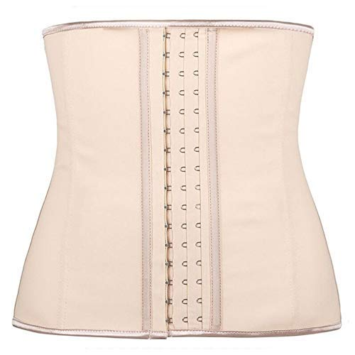 WSJ  9 Steel Bone Shape Wear Body Shapers Women Corset Slimming Belt Waist Shaper Cinta Latex Waist Trainer Corset