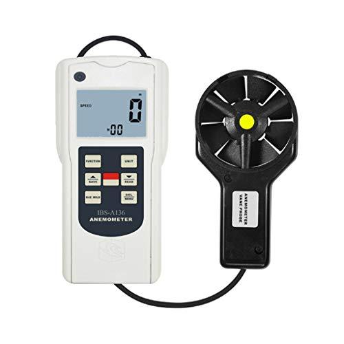Zcyg Anemometer Wind Speed Meter Laufrad-Windmesser Luftgeschwindigkeits-Datenlogger, zum Surfen, Segeln, Angeln, Drachensteigen, Bergsteigen