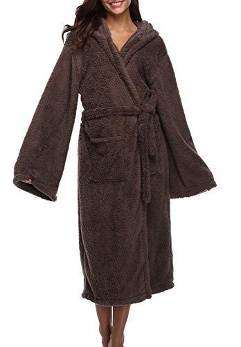 1stmall Fleece Robe, Long...