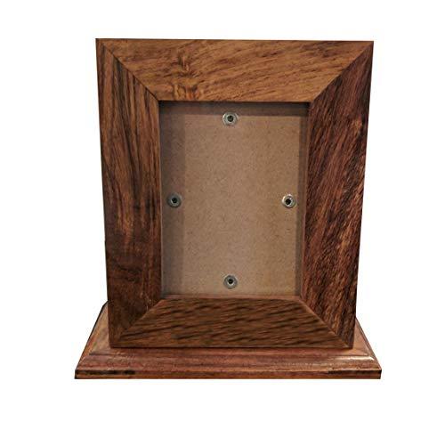 Memorial Gallery Custom Wood Personalized Engraved Pet Urn, Medium