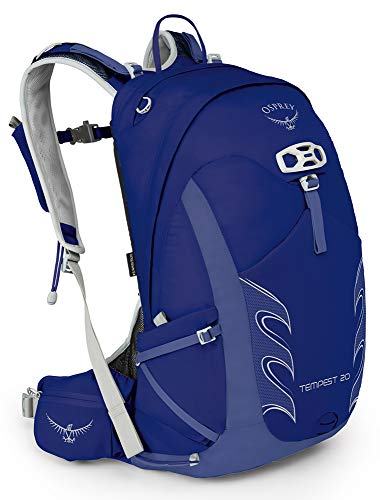 Osprey Packs Tempest 20 Women's Hiking Backpack, Iris Blue, Ws/M, Small/Medium