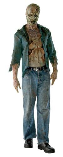 The Walking Dead - Disfraz de zombie hambriento para adultos, Talla única (Rubies 880355)