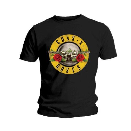 Universal Music Shirts Guns N' Roses - Logo 0904944 Unisex - Erwachsene Shirts/ T-Shirts, Schwarz (Black), 42/44