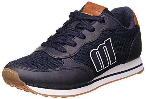 MTNG Attitude 84361B, Zapatillas para Hombre, Azul (Wax Sued