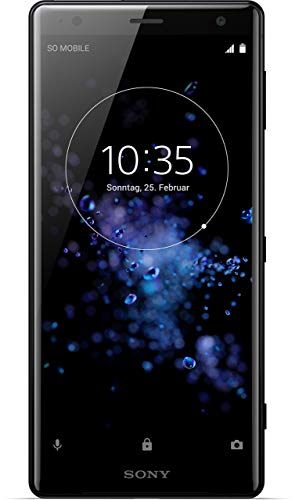 Sony Xperia XZ2 Smartphone (14,5 cm (5,7 Zoll) IPS Full HD+ Display, 64 GB interner Speicher und 4 GB RAM, Dual-SIM, IP68, Android 8.0) Liquid Black - Deutsche Version