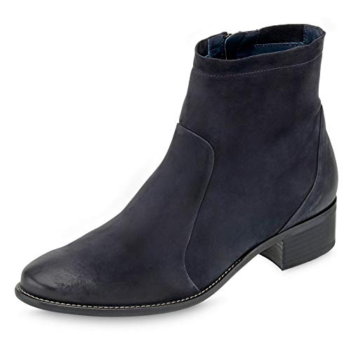 Paul Green Damen Stiefeletten 9673-035 blau 709058