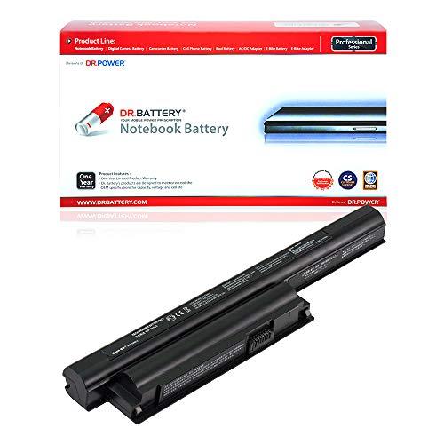 Dr. Battery Laptop Battery for Sony VGP-BPS26 VGP-BPL26 VGP-BPS26A VAIO PCG-71911L PCG-71912L PCG-71913L PCG-71914L PCG-61713M PCG-61714M PCG-91211M SVE15 SVE1511C5E SVE151E11M [11.1V/4400mAh/49Wh]
