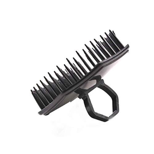 ZYING Peine de champú de Masaje Scalp, Peine de peluquería de plástico, Peine de Pelo Liso, Herramienta de peluquería doméstica