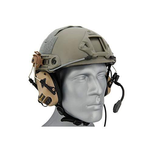 Earmor Helm Headset M32H mit NRR 22 Schallschutz, voll verstellbar - TAN [M32H-TN]