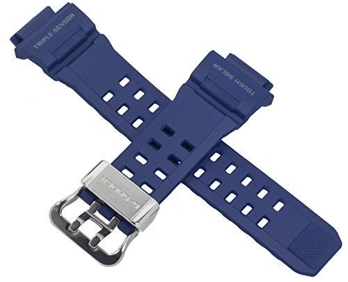 Original Casio Uhrenarmband für GW-9400NV GW 9400NV 9400 Blau 10467767