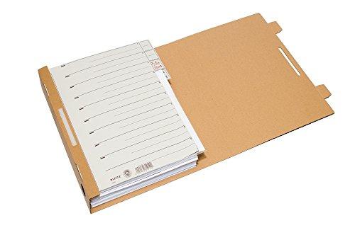 Smartbox Pro Archiv-Ordner mit Archiv-Clip, 25er Pack, braun