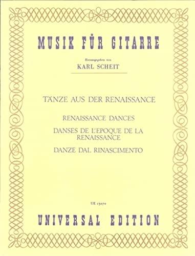 Tänze aus der Renaissance für Gitarre