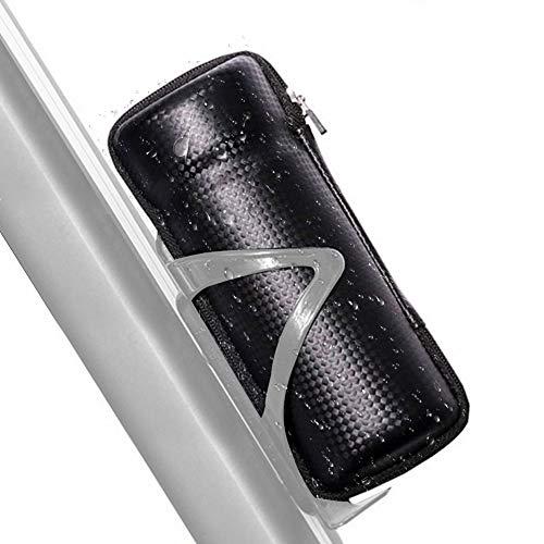 VGEBY1 Bolsa de Bicicleta, Bolsa de Almacenamiento de Herramienta de reparación Impermeable Negra para Ciclismo