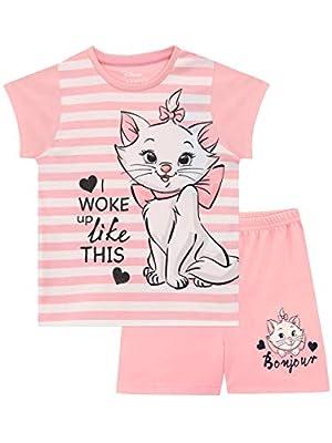 Disney Pijamas para Niñas Aristocats Rosa 7-8 Años