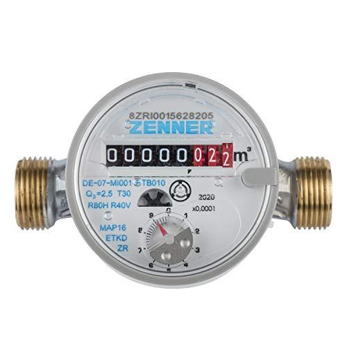 Zenner 146630 Wasserzähler ETKD für Kaltwasser Baulänge 110mm