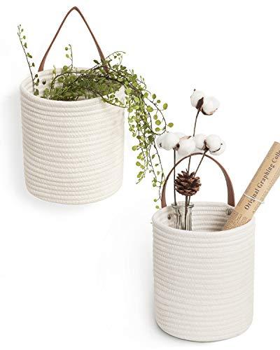 Goodpick 2pack Rope Hanging Basket - 7.87