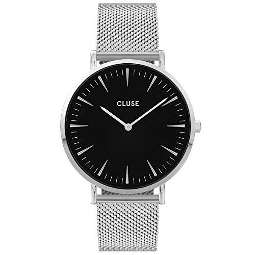 CLUSE dames analoog kwarts horloge met roestvrij stalen armband CW0101201004