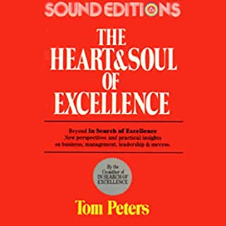 The Heart and Soul of Excellence audiobook cover art