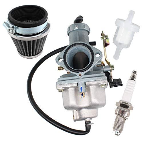 AISEN Carburatore PZ30 filtro dell'aria candela di accensione per Bashan BS200S-7 BS250S-11 Kymco MXU 300 L60020 KXR 250 Maxxer 250 300 moto 200 cc e 250 ccm, Enduro, Quad, Taotao