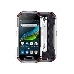 Unihertz ATOM L, The Small 4-inch Screen Rugged Smartphone 48 MP Rear Camera, 4300mAh battery Android 10 IP68 Water-resistant Dustproof Shockproof Global Unlocked, Fingerprint & Face Unlock, Dual SIM Card, NFC, Infrared