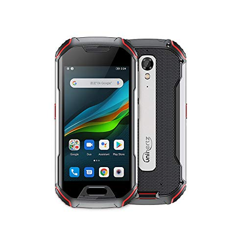 Unihertz Atom L 6GB+128GB, Das Robuste 4-Zoll-Smartphone Android 10, 48MP-Kamera, 4300mAh Akku, Entsperrt