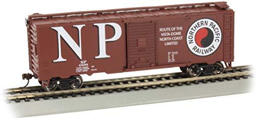 Bachmann Trains - 40' Box Car - Northern Pacific # 43099 - HO Scale -  17015