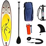Tablas De Paddle Surf Inflables (6 Pulgadas De Grosor),Barco De Pie Paddleboarding Sup,con Pala Ajustable, Mochila, Bomba De Mano, Kit De Reparación, para Jóvenes Adultos, Pesca, Yoga
